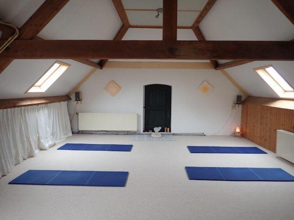 In De Roos Yoga - Lesruimte